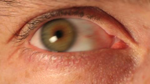 Green eye Footage
