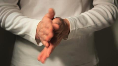 Hands sanitizing ビデオ