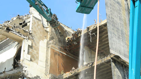 Demolition Stock Video Footage