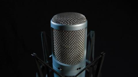Studio Microphone Footage