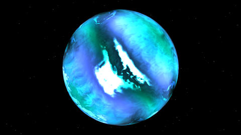 Blue planet Animation