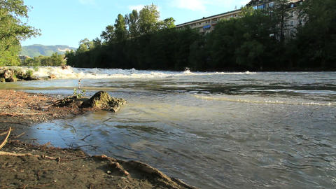 River - DOLLY Stock Video Footage