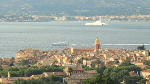 Saint-Tropez Stock Video Footage