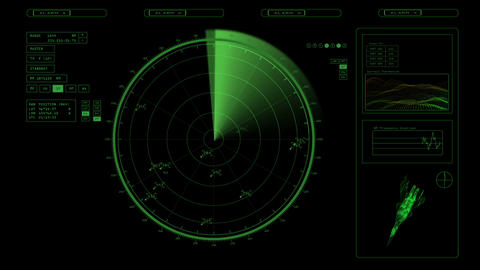radar Stock Video Footage