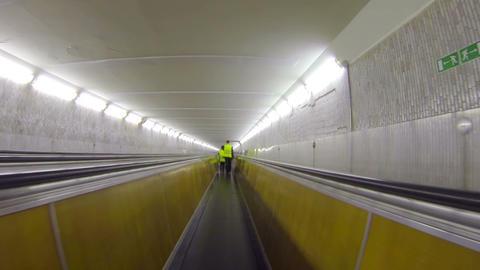 Underground horizontal conveyor Footage