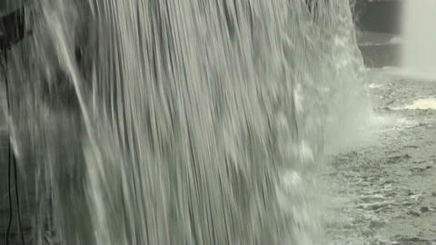 Fountain, waterfall Footage
