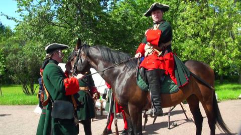 Sagittarius on horseback Footage