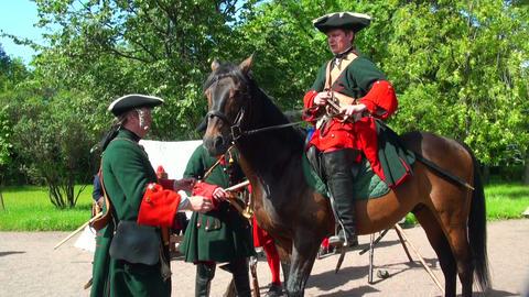 Sagittarius on horseback Stock Video Footage
