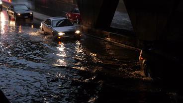 Toronto Storm Flooding 1 Footage