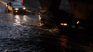 Toronto Storm Flooding 3 Stock Video Footage