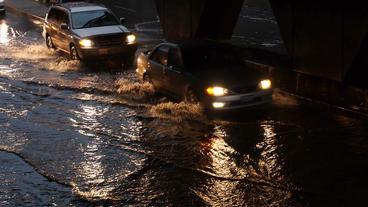 Toronto Storm Flooding 3 Footage
