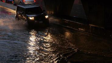Toronto Storm Flooding 5 Footage