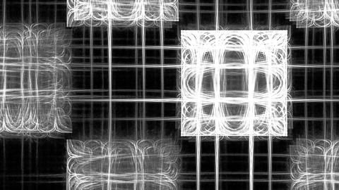 Abstract pattern motion. With alpha channel Stock Video Footage