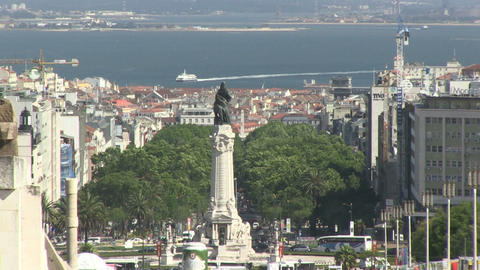 Lisbon Avenue Liberdade Marques Footage