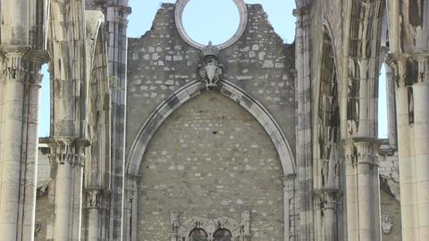 Carmo Church Stock Video Footage