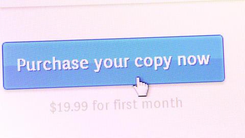 Internet display Stock Video Footage