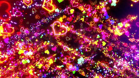 Heart G 6 Ba HD Stock Video Footage