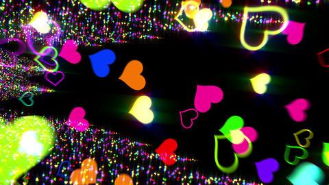 Heart G 6 Beee HD Stock Video Footage