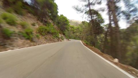 Mountains road Stock Video Footage
