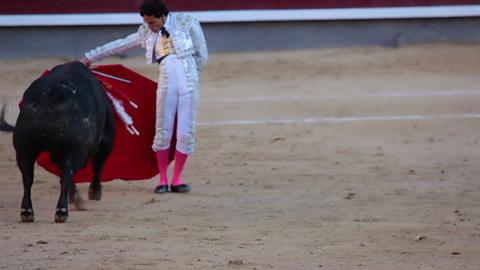 Virtuoso torero Stock Video Footage