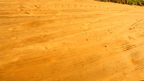 Dirt road Stock Video Footage