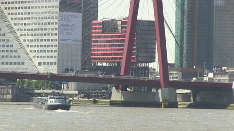 Rotterdam, The Netherlands Stock Video Footage