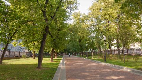 Walk on Pokrovka Boulevard Footage