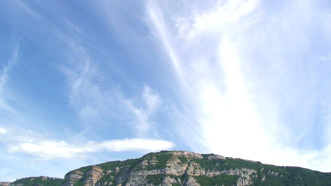 Mountain timelapse Stock Video Footage