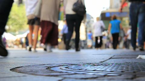 Pedestrians Footage