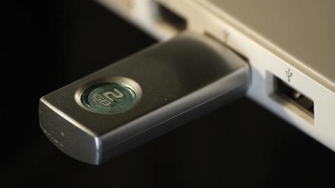 USB stick Footage