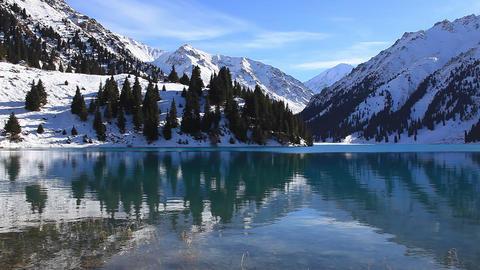 Winter Lake Footage