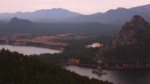 Autumn landscape Stock Video Footage