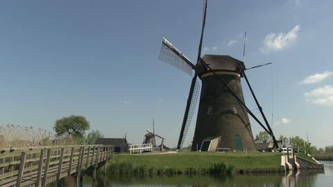 Dutch windmills Footage