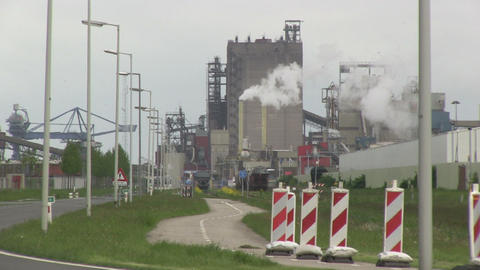 Heavy Industry Stock Video Footage