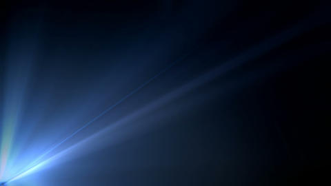Blue Lights Background Animation