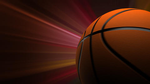 Basketball Background Animation