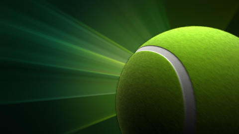 Tennis Ball Stock Video Footage