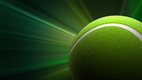 Tennis Ball stock footage