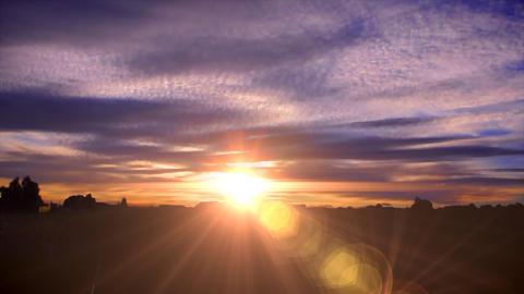Australia sunset time laspe Animation