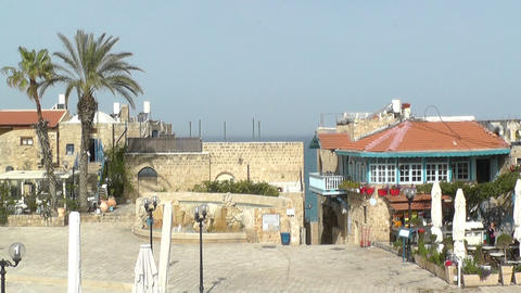 View of historic part of Jaffa,Tel Aviv Footage