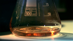 Chemistry Lab Slow Motion 06 stock footage