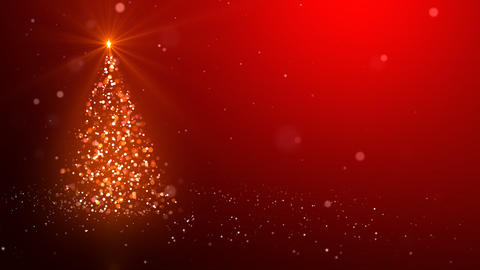 The Christmas tree_043 Stock Video Footage