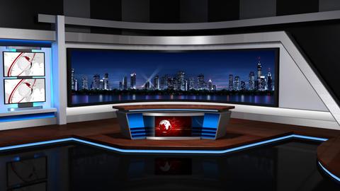 Virtual studio 057 Stock Video Footage