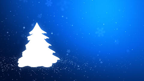 The Christmas tree_046 Stock Video Footage