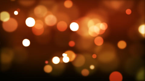 Red defocused Particles_025 Stock Video Footage