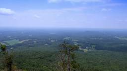 Pilot Mountain View stock footage