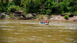 White Water Rafting Stock Video Footage