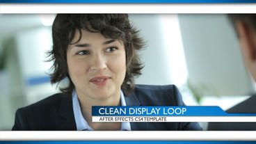 Clean Display Loop - After Effects Template After Effects Project
