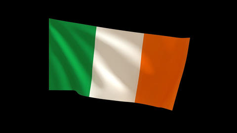 Ireland flag_015 Animation