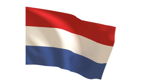 Luxembourg flag_016 Animation